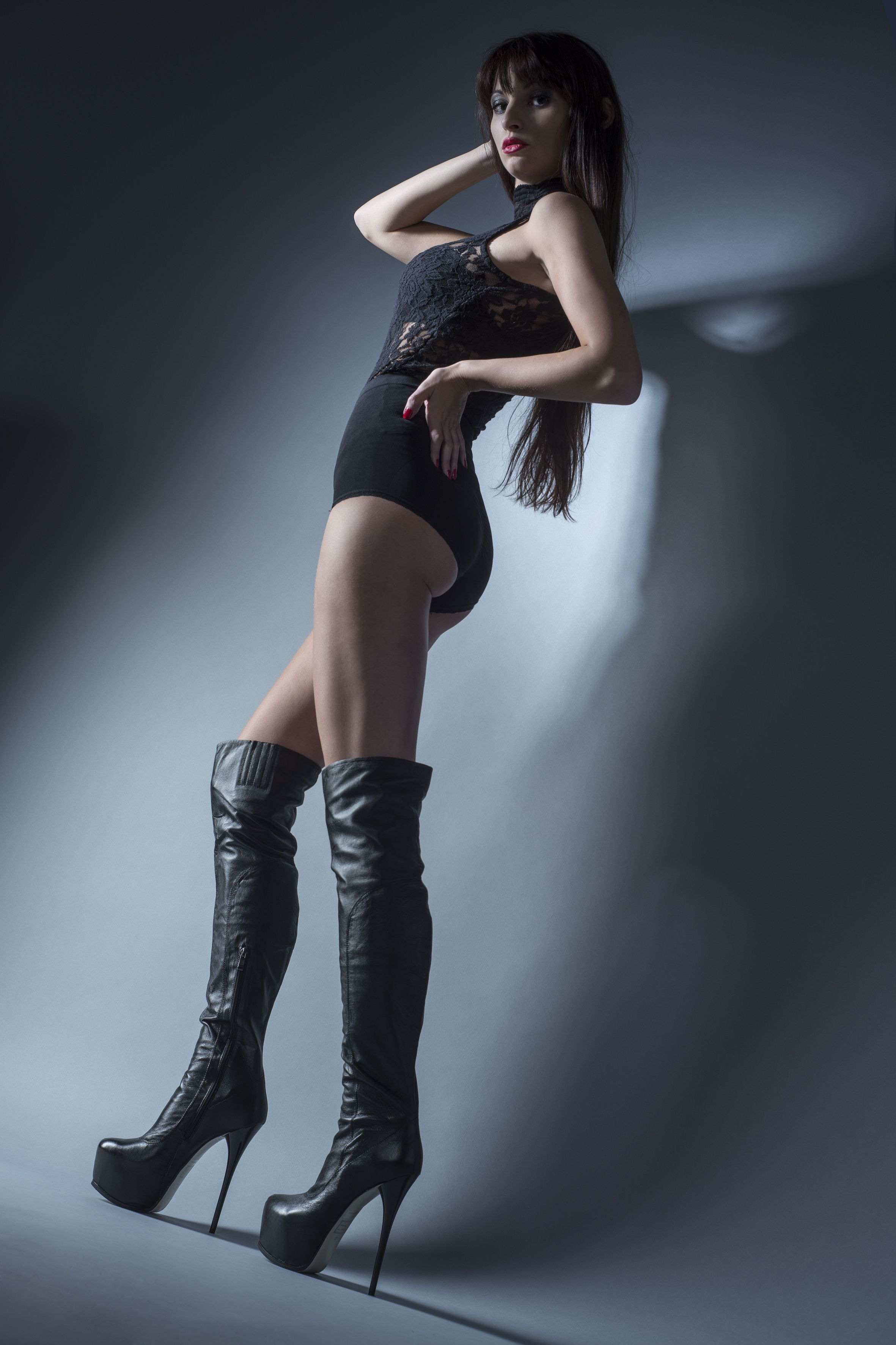 Arollo Leather Heeled Boots E8a8fa723df2987d347f287471e1dbc8
