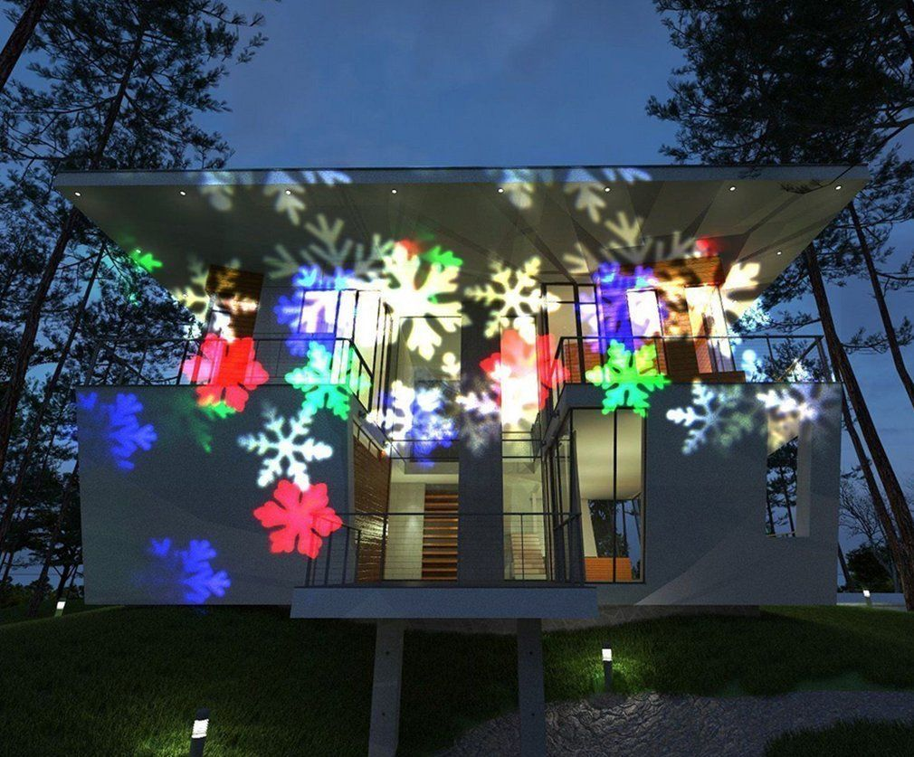 E Cowlboy Christmas Halloween Party Projector Light Waterproof Automatical Outdoor Christmas Lights Outdoor Christmas Light Projector Christmas Light Projector