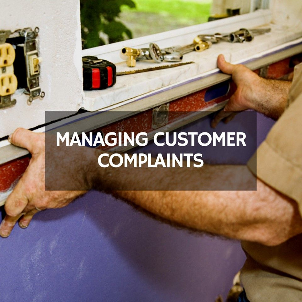 Plumbing Tricks & Tips Managing Customer Complaints