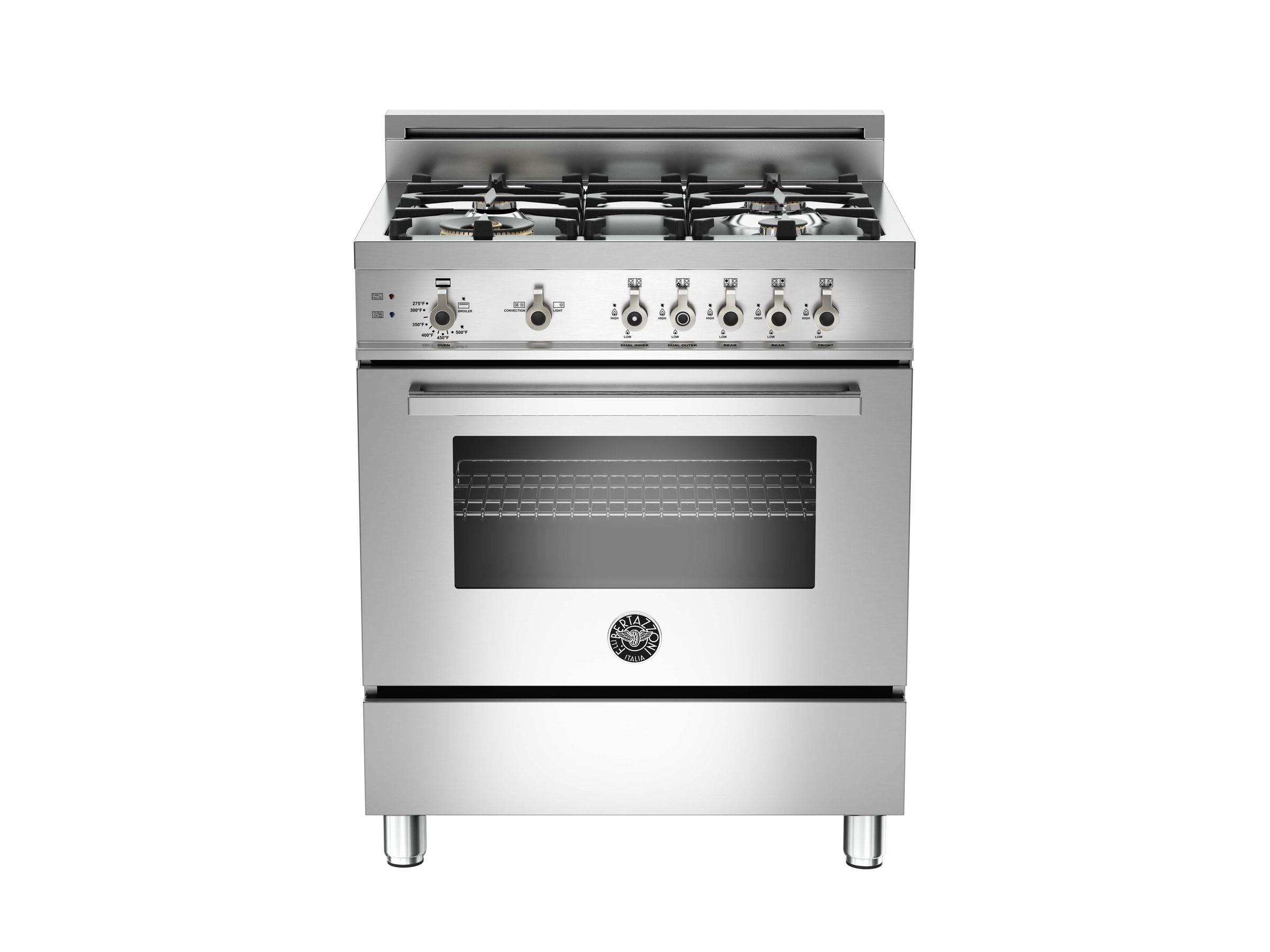 30 4-Burner, Gas Oven | Bertazzoni - Stainless | Appliance ideas ...