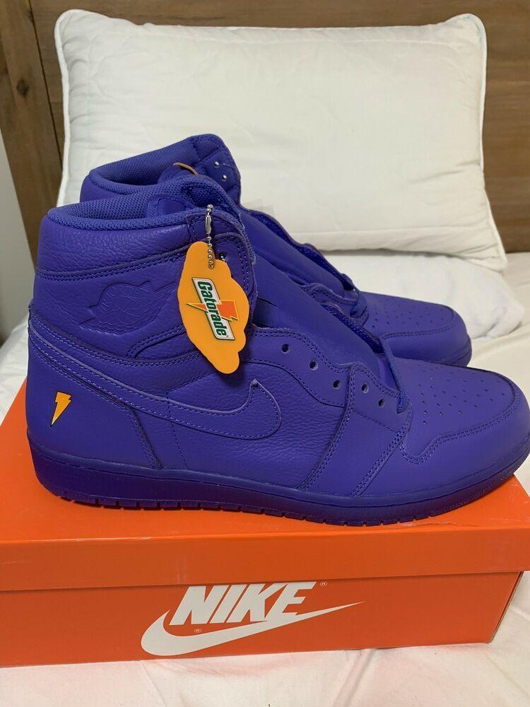 b05cbf3ec7e Air Jordan 1 Retro High OG- Gatorade Grape Rush - Size 15US #fashion  #clothing #shoes #accessories #mensshoes #athleticshoes (ebay link)