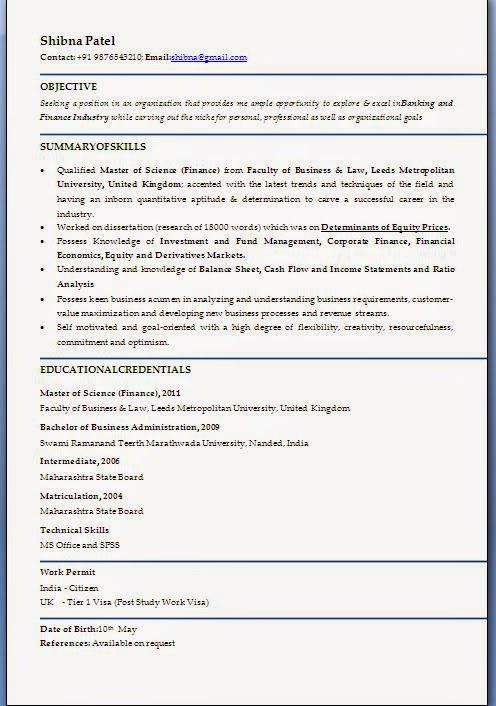cv profile examples uk Sample Template Example ofExcellent - examples of work experience