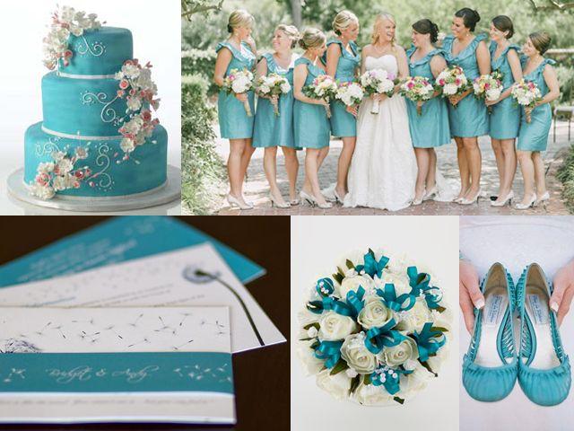 Combinaciones De Colores En Blanco Y Azul Turquesa Foro