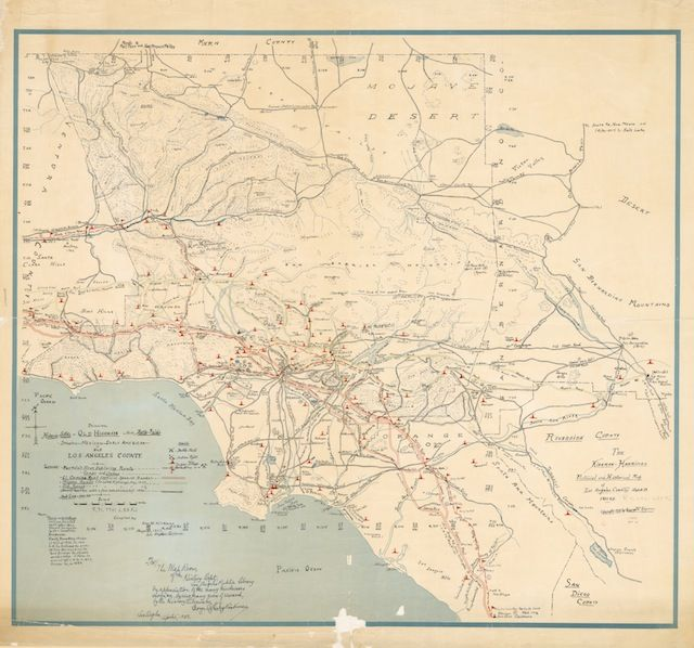 Awesome Old School Map Shows Native American Villages, Waterways And ...