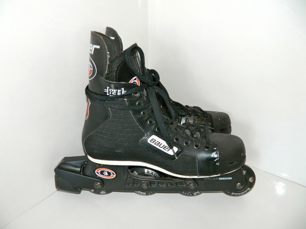 Bauer Off Ice Inline Roller Hockey Skates Rollerblades Nhl 3 Size 9 D Canada Unique Items Products Hiking Boots Roller Hockey Skates