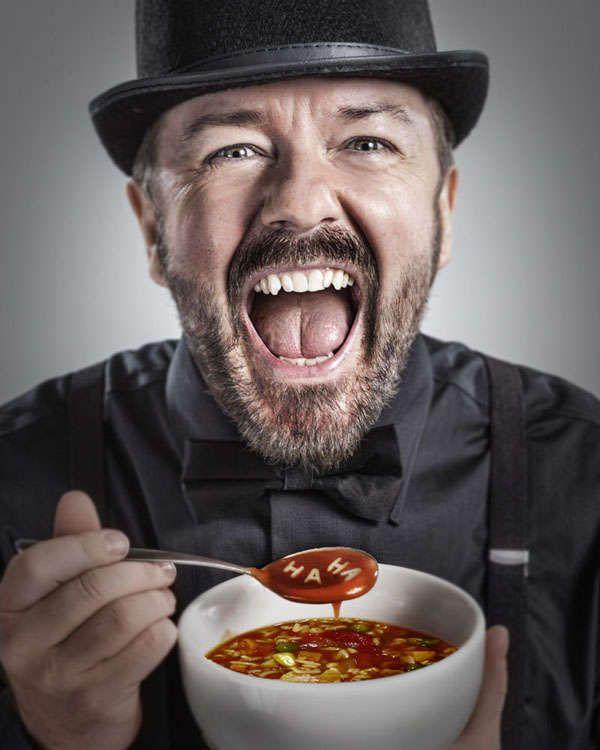 Ricky Gervais born 25 June 1961 www.horoscopegangsta.com