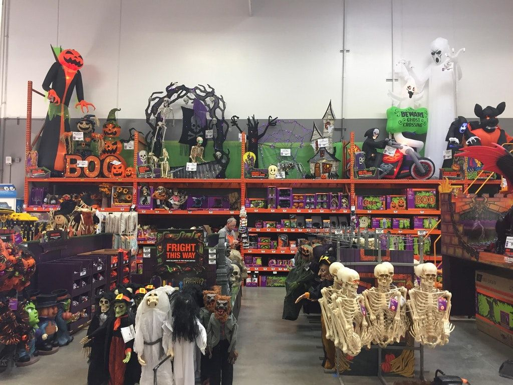Home Depot Is Officially In The Spirit Halloween Walmart Halloween Decorations Halloween Decorations Fun Diy Halloween Decorations