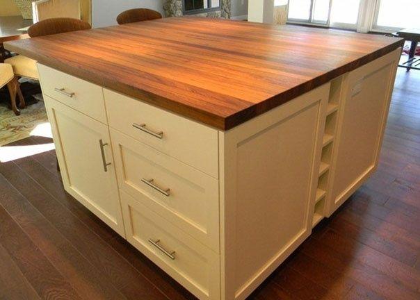 Teak Wood Countertop In Madison New Hampshire By Grothouse Wood Countertops Butcher Block Countertops Countertops