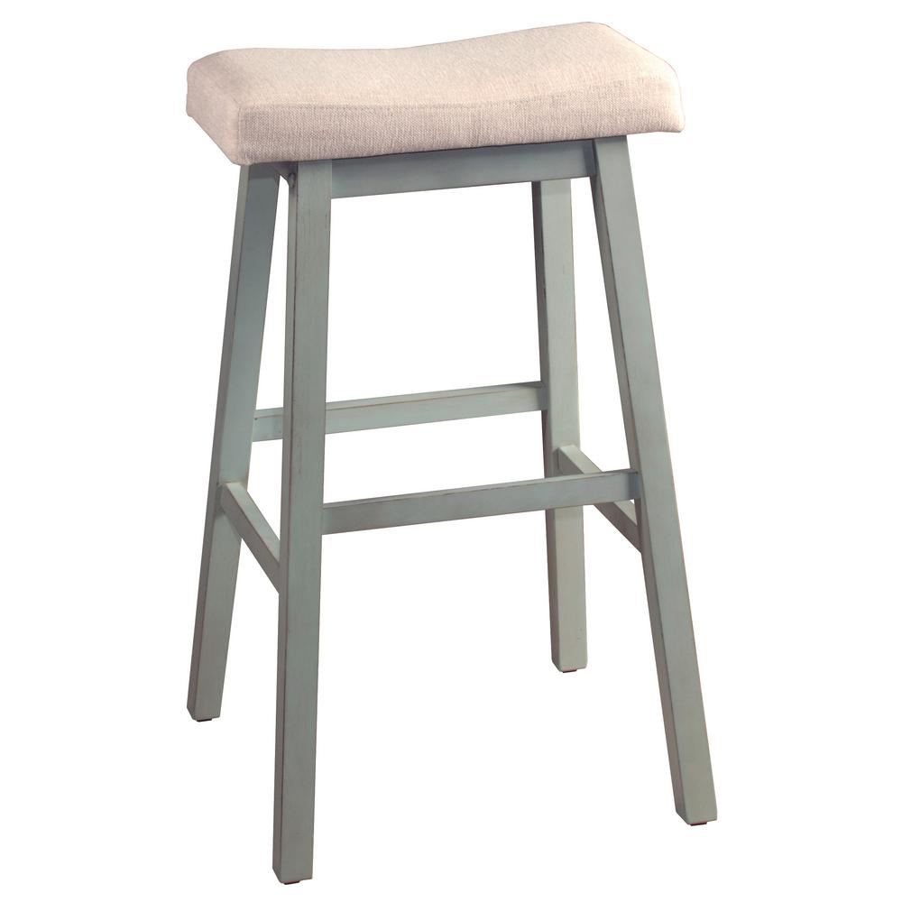Peachy Hillsdale Furniture Moreno Blue Gray Non Swivel Backless Bar Ibusinesslaw Wood Chair Design Ideas Ibusinesslaworg