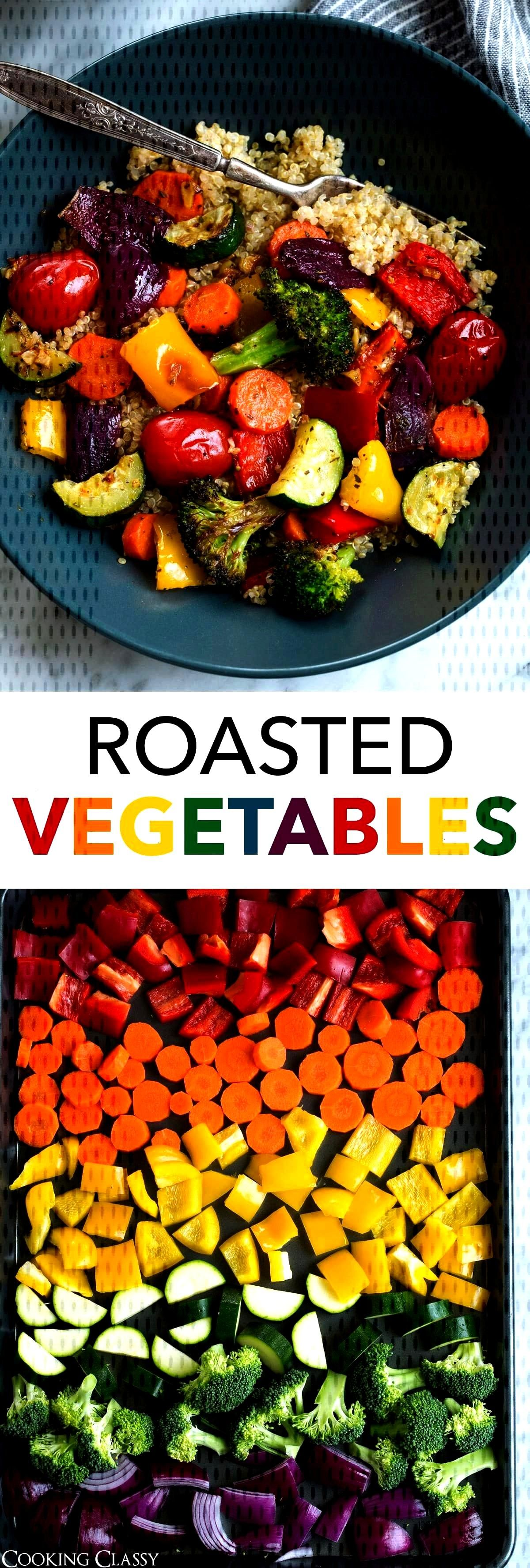 Vegetables - this is hands down the best way to cook vegetables. When you roast them it adds depth