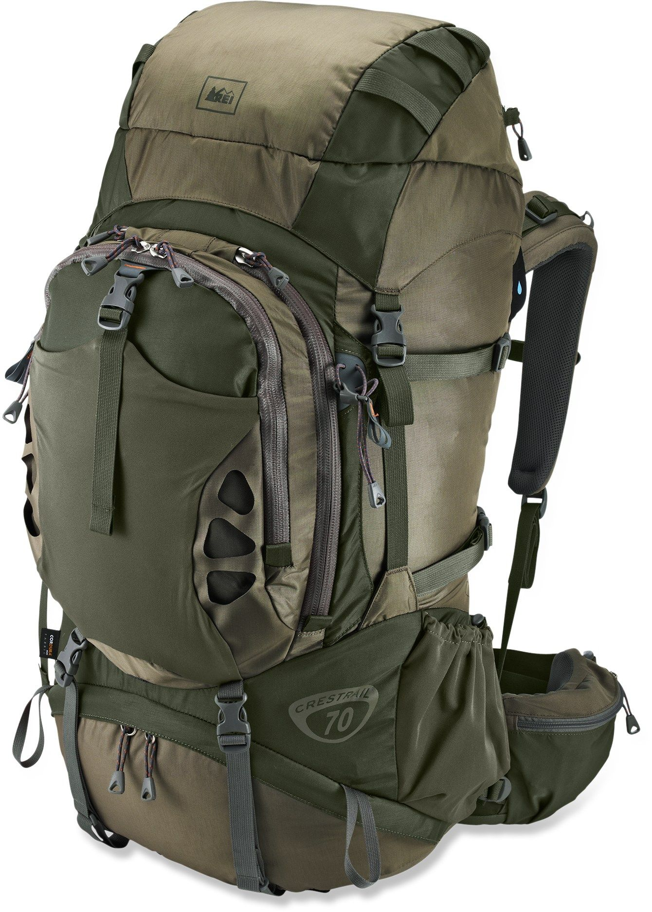 REI Crestrail 70 Pack   roll   Pinterest   Mochilas, Morral y Campismo