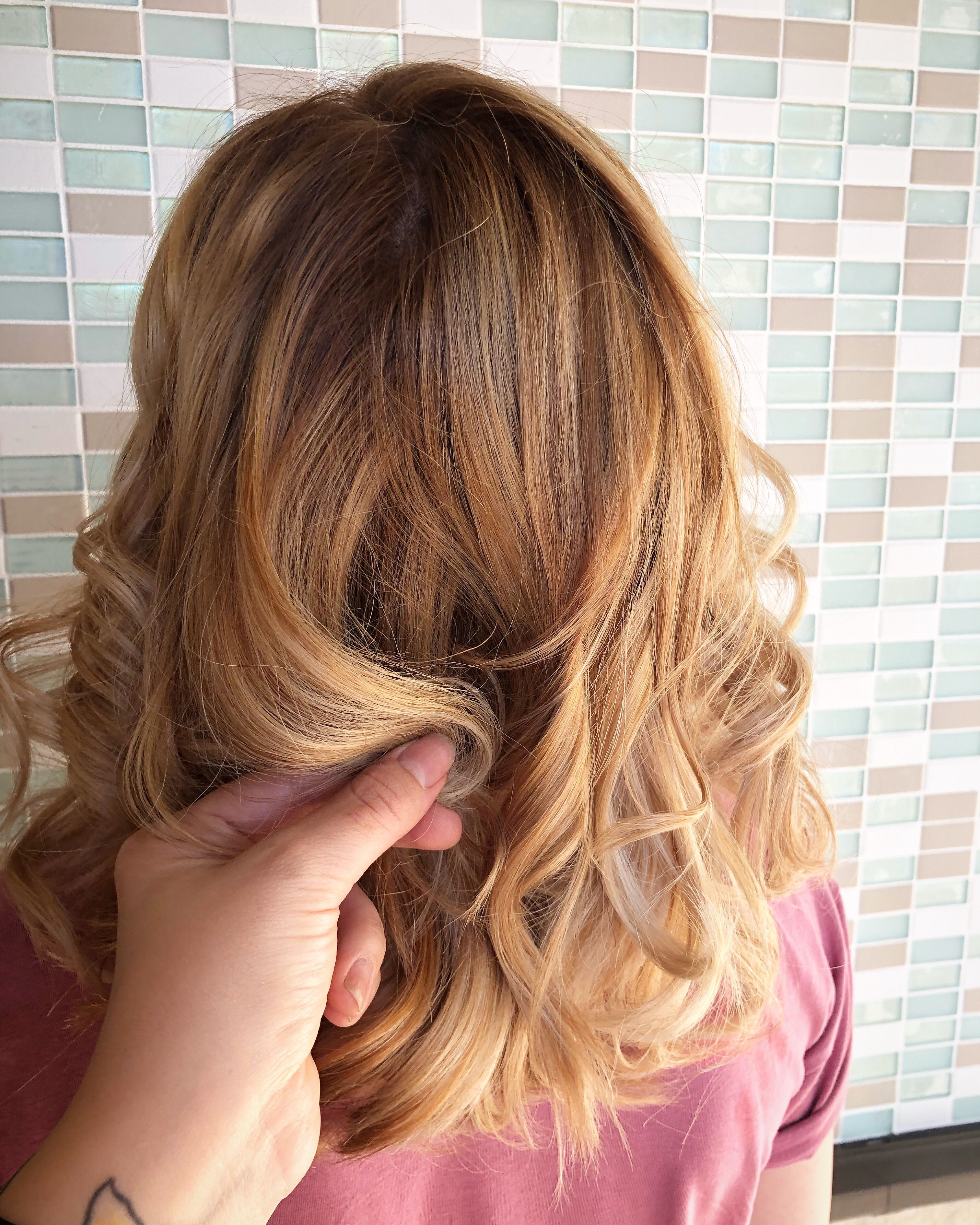 Warm Root Smudge Long Hair Styles Cosmetologist Hair Styles