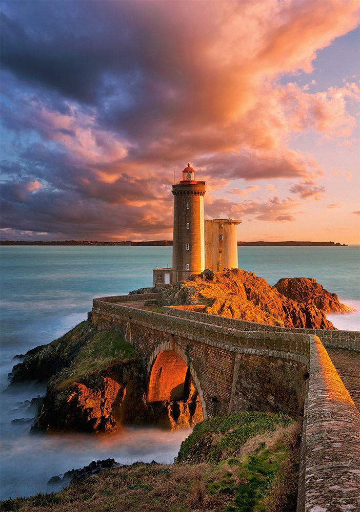 The Lighthouse Petit Minou, France 500pc Jigsaw Puzzle