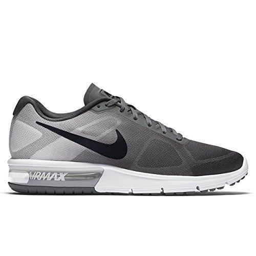c2e076a469a4f9 Nike Men Air Max Sequent Running Shoes (12 D(M) US Dark Grey Pure ...