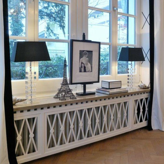 ▷ 1001+ tolle Ideen für Fensterdeko mit Fensterbank Lampen