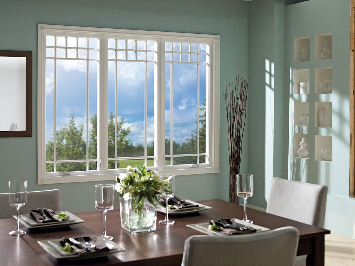 House windows design image 004 exterior paint color home for Window vinyl design