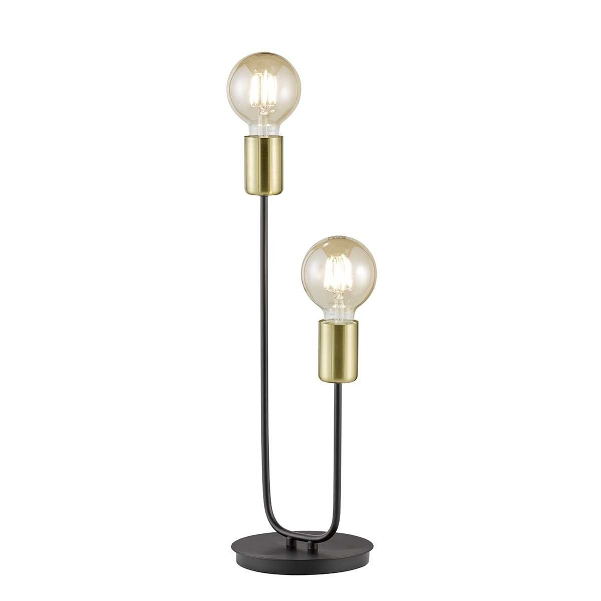 tischleuchte york  wofi leuchten lampentisch und lampen