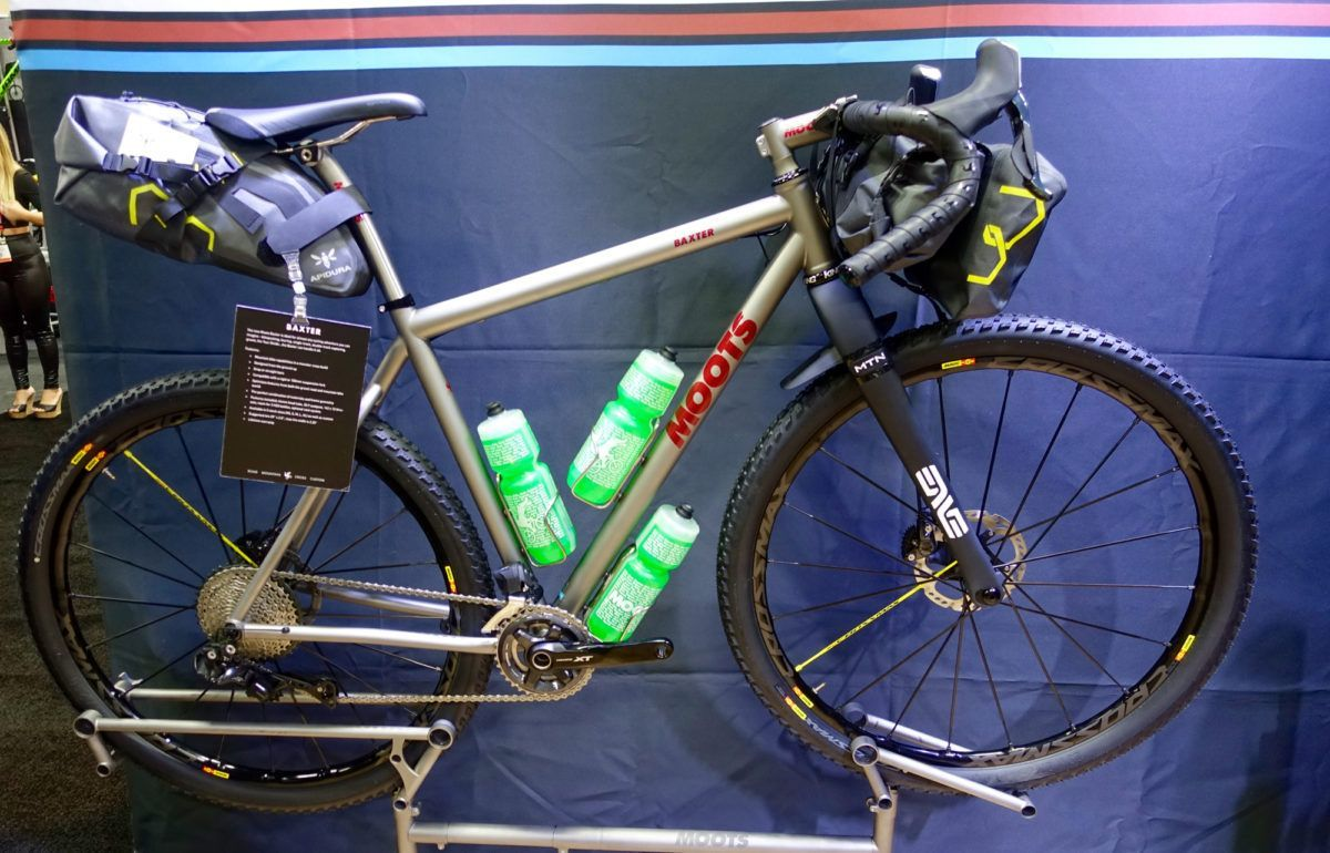 The Moots Baxter is easily the most expensive drop bar