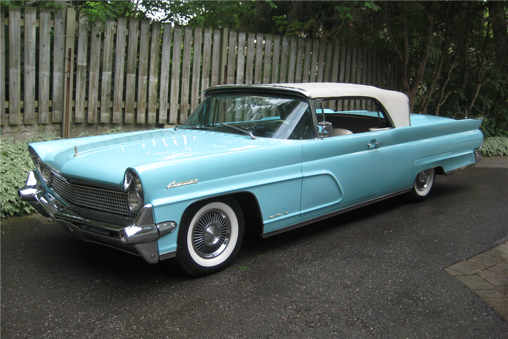 1959 Lincoln Continental Convertible Misc 1 201710 Cadillaccliccars