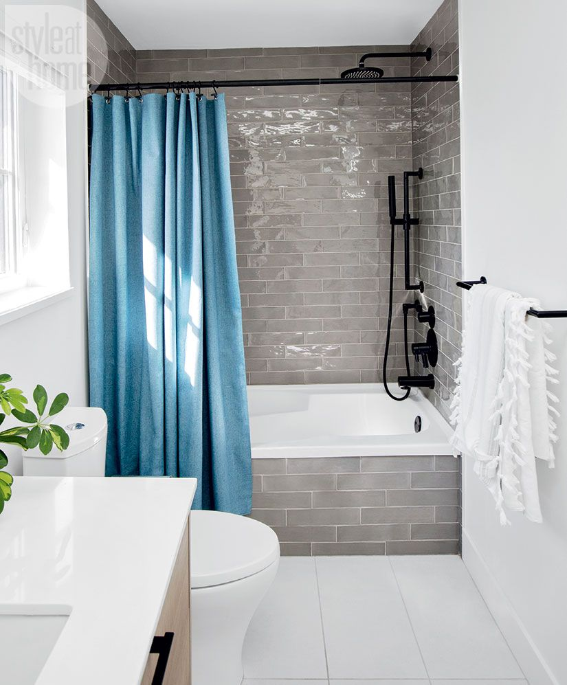 Hand-painted tiles give this bathroom a memorable touch | Tub ...