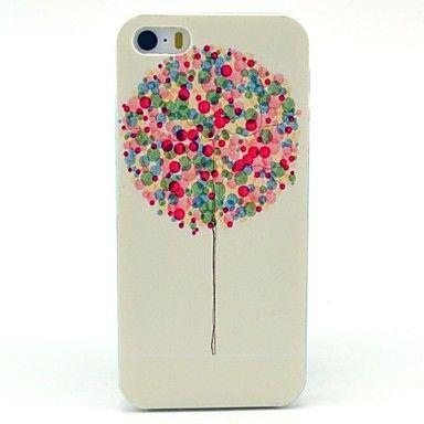 Vliegende kleurrijke ballonnen patroon harde case voor de iPhone 5/5S – EUR € 2.75