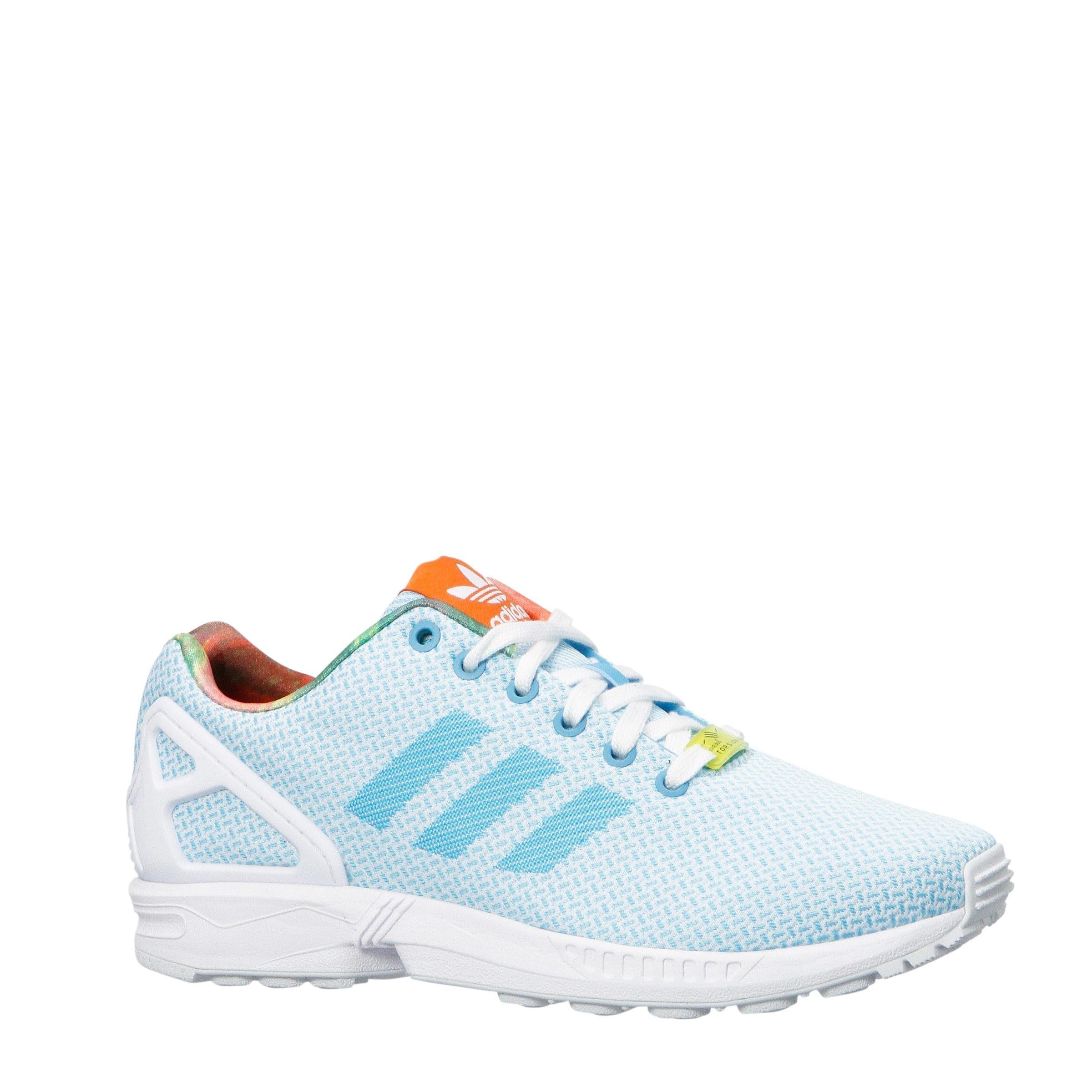 Adidas Flux W Fraaie Zx Weave blauwwit Originals Sneakers A1Iqdx4q