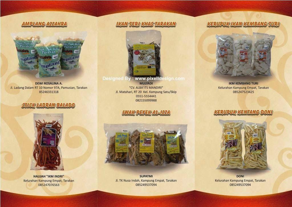 Desain Brosur Makanan Contoh Iklan Produk Dan Jasa Pinterest
