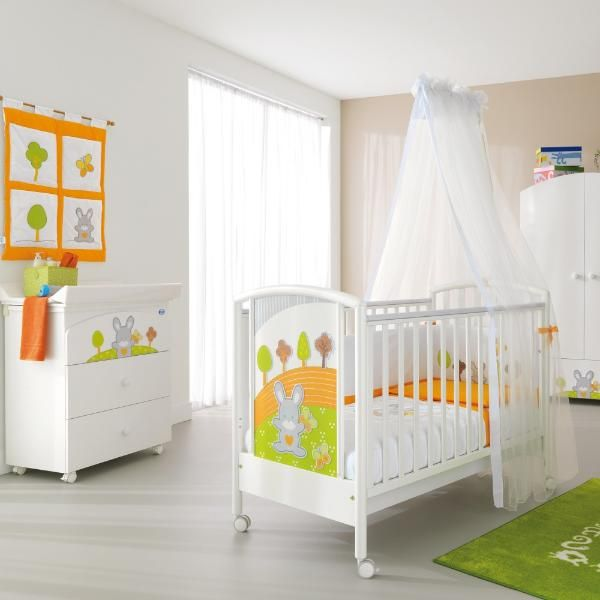Babyzimmer set buche  Pali Babyzimmer komplette Babymöbel Smart Bosco Kinderzimmer Set ...