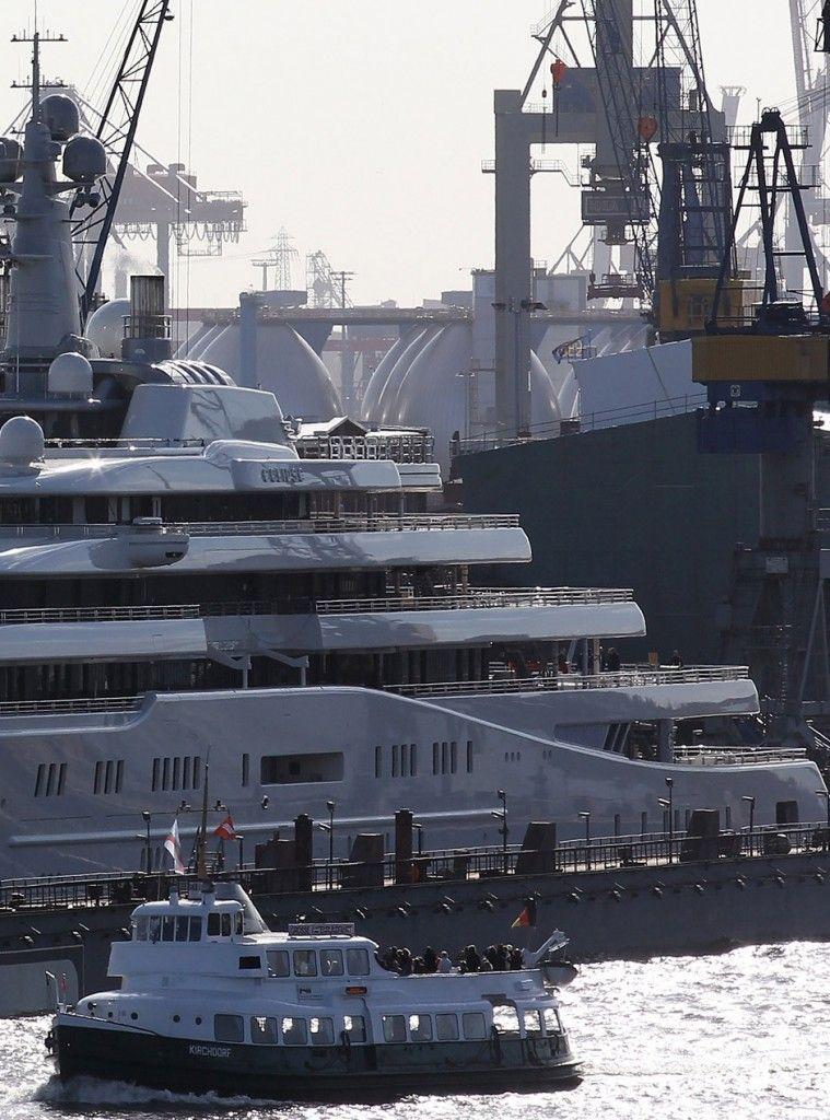 Roman Abramovich Eclipse Mega Yacht Includes Missile Defense System