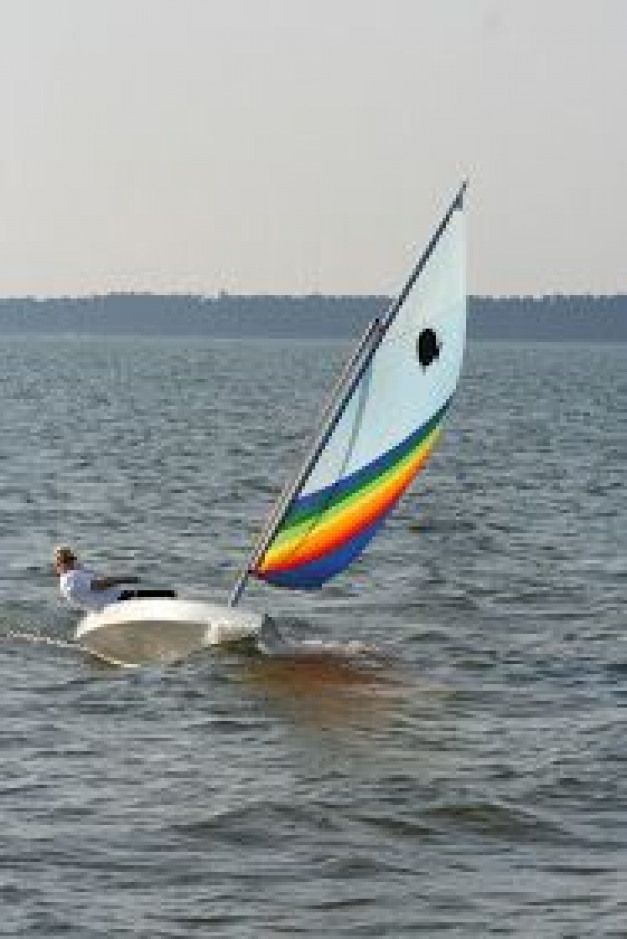 Small Boat Restoration: Sunfish Rudder Conversion