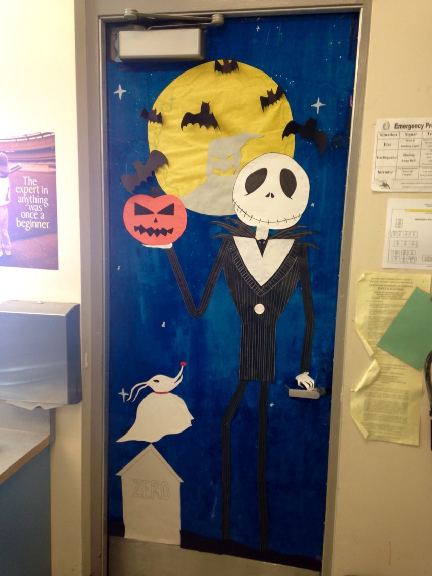 T J Rich (rich803) on Pinterest - classroom door halloween decorations