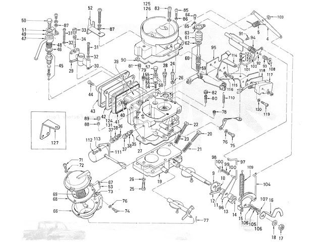 Hitachi Nissan Carburetor 6 Nissan Carburetor Hitachi
