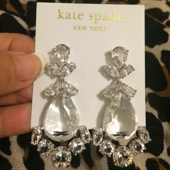 Kate Spade New York Chandelier Earrings Silver Kate Spade New York Chandelier Earrings Silver kate spade Jewelry Earrings