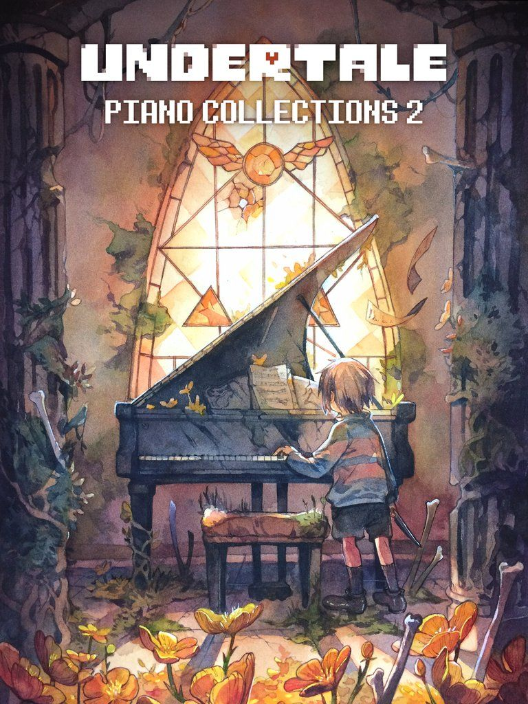 Undertale Piano Collections 2 Physical Sheet Music Book Dessin