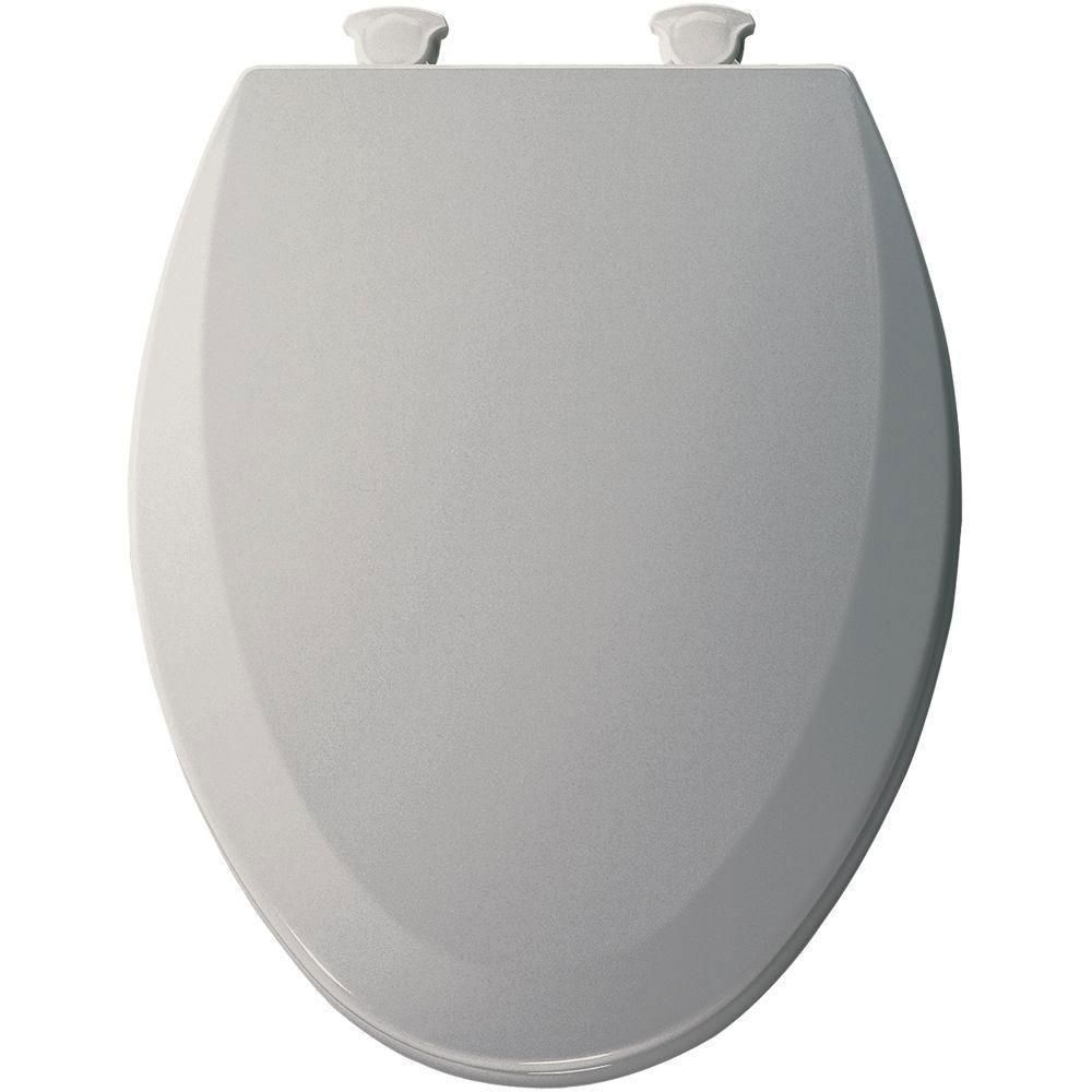 Bemis Lift-Off Elongated Closed Front Toilet Seat In Ice