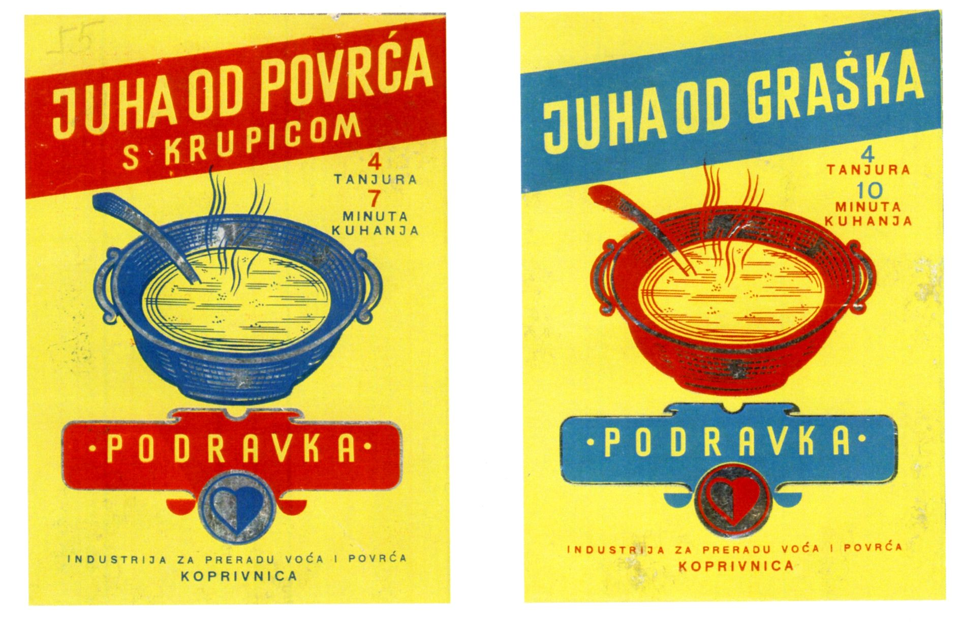 Packaging Design Of Instant Soups Podravka The Largest Croatian Food Processing Company From Koprivnica Desi Croatian Recipes Packaging Design Processed Food