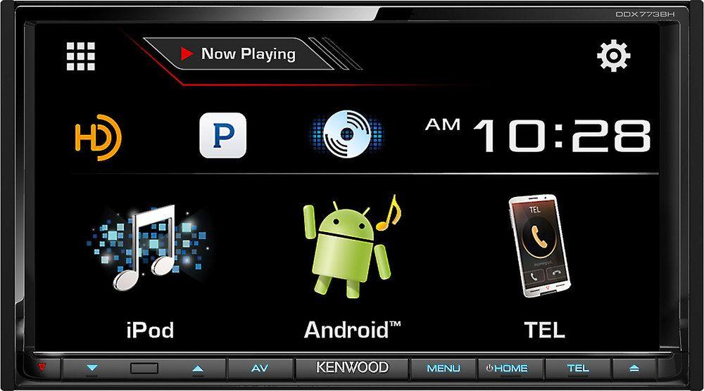 Kenwood DDX773BH DVD receiver at Crutchfield com | Car tings