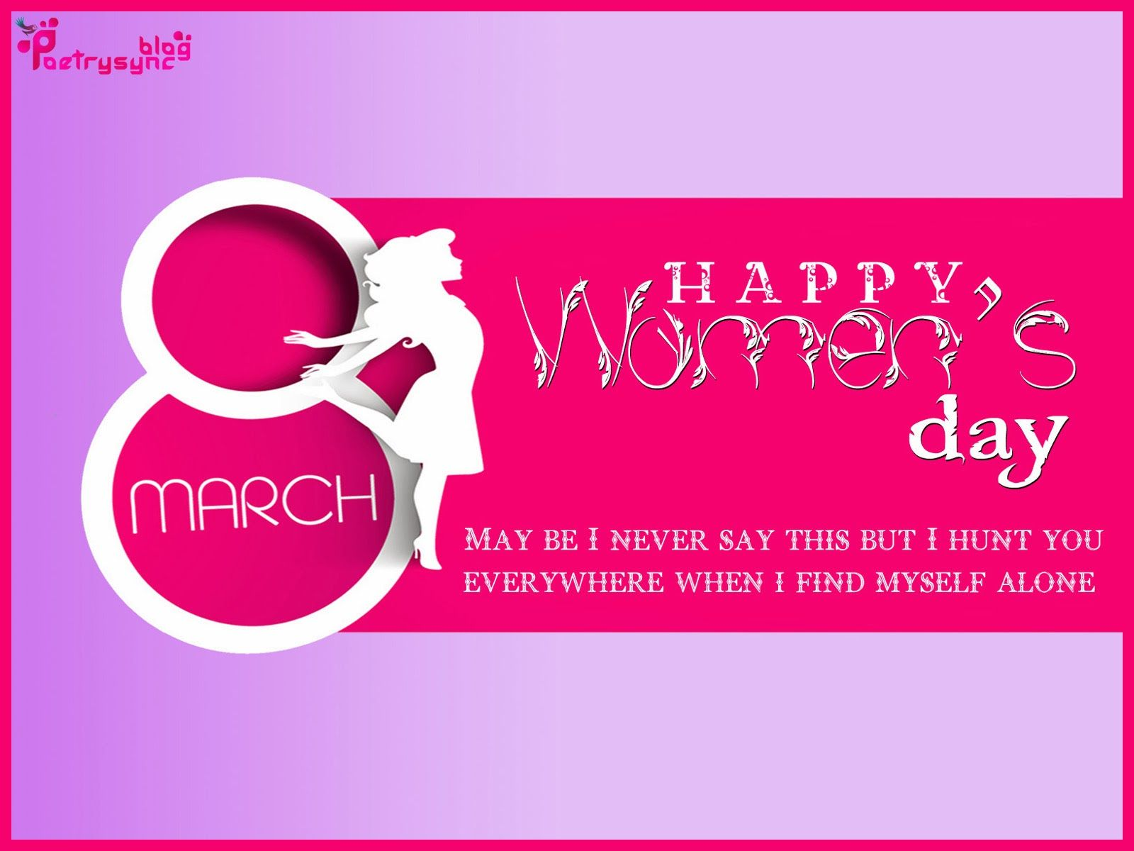 Poetry International Women s Day Wishes SMS with Greetings