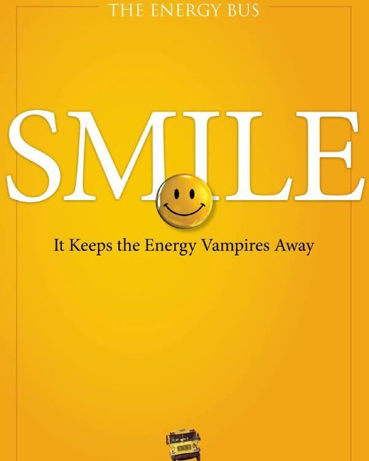 Jon GordonThe Energy Bus That Smile Pinterest Energy Bus Gorgeous The Energy Bus Quotes