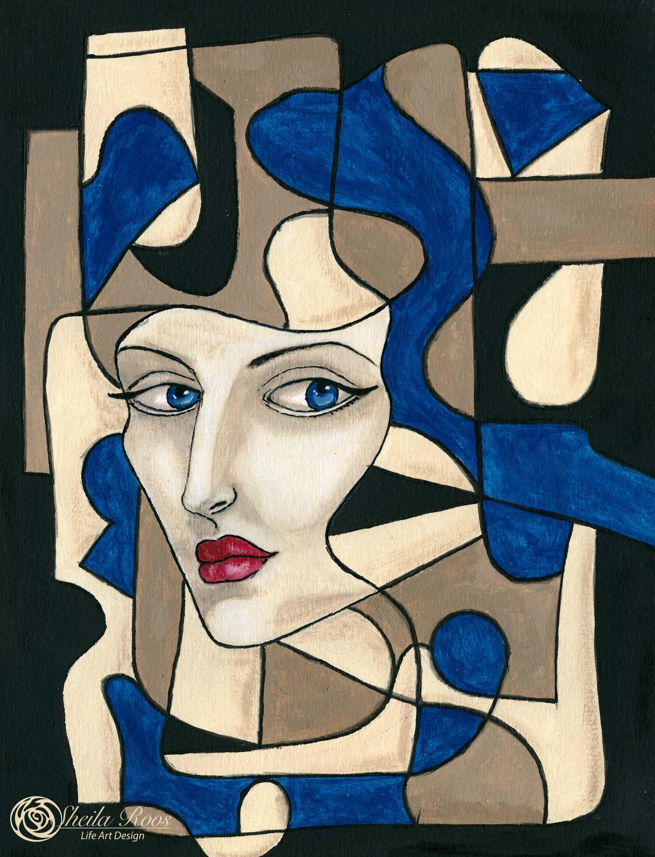 Love Art Happy Life Tamara de Lempicka inspiration lesson Iris Fritschi-Cussens
