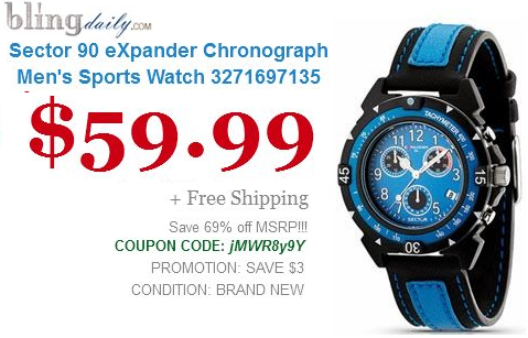 sector 90 expander chronograph s sports