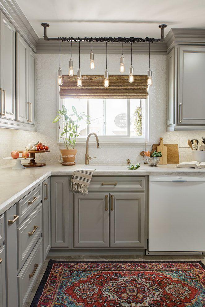 Off Center Faucet Ideas Kitchen Scandinavian With Grey
