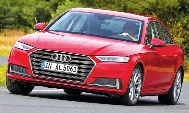 Audi A4 Avant Facelift (2018): Erste Fotos   Audi a4 and A4
