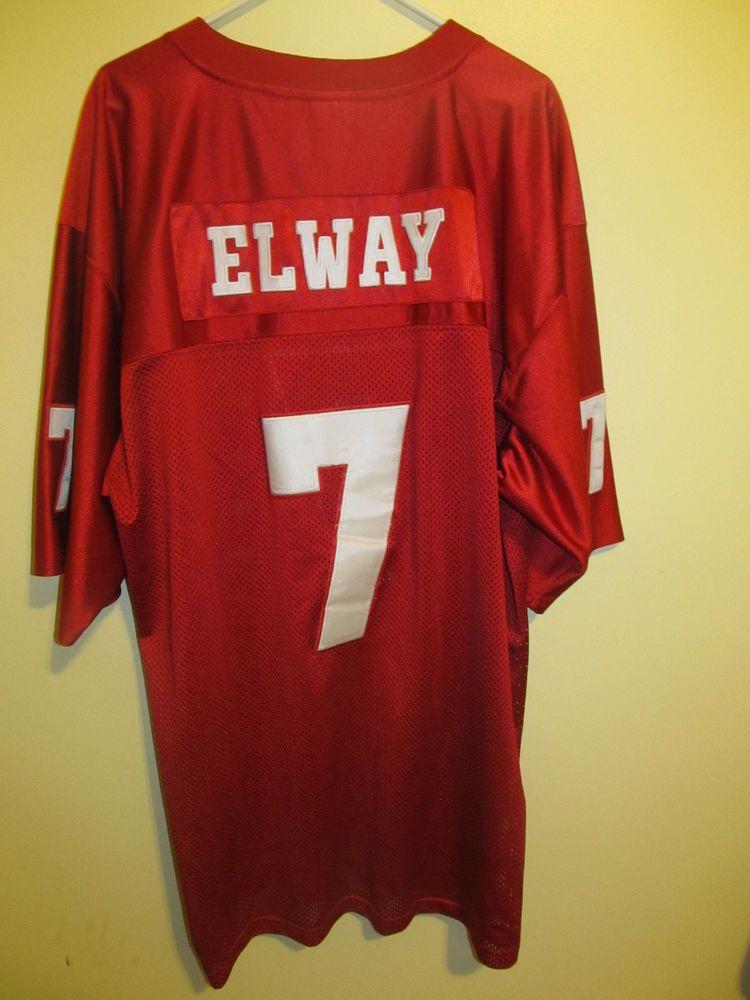 John Elway Stanford Cardinals Football Jersey Adult Size 54 Trueschoolathletics Stanfordcardinals With Images Stanford Cardinal Football