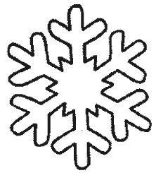 Copo De Nieve Gif 222 245 Adornos Copo De Nieve Molde Copo De Nieve Copos De Nieve