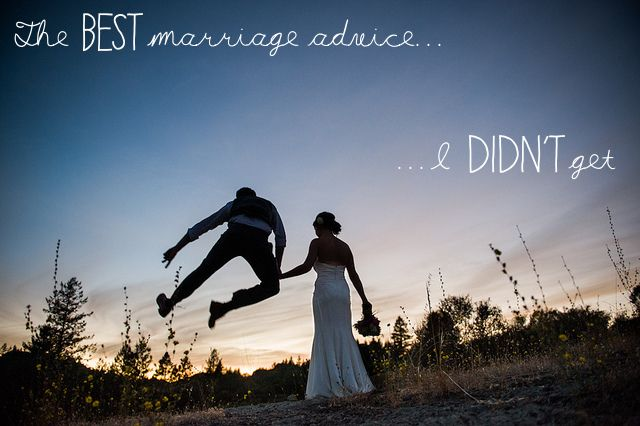 Open Thread The Best Marriage Advice I Didnt Get Come To