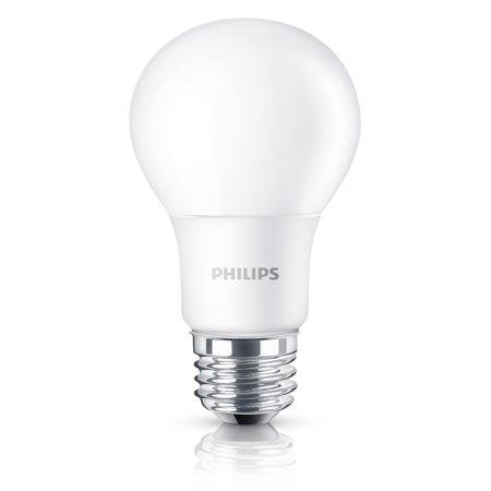 Phillips 466094 8 Watt E26 A19 Frosted Daylight Led Light Bulb 16 Count Walmart Com Light Bulb Led Light Bulb Bulb