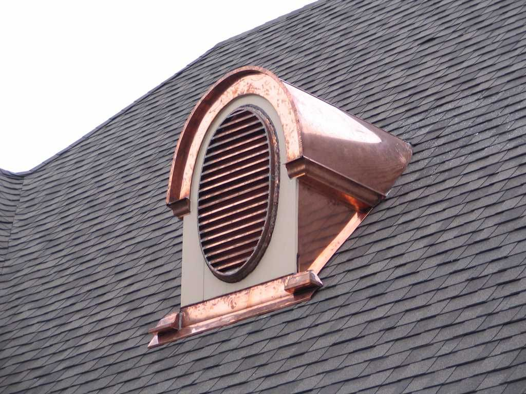 Beautiful Attic Louvers Roof Vents Copper Roof Roof