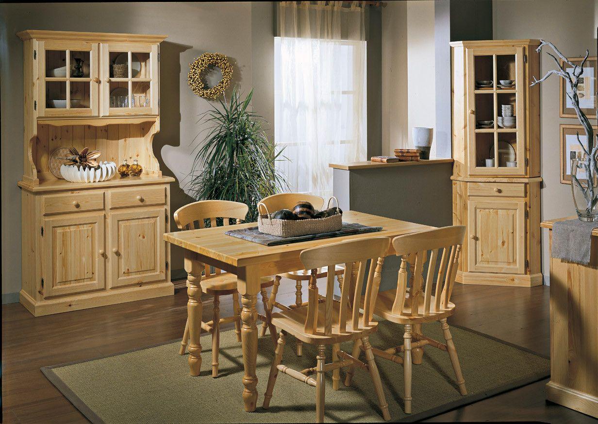 Credenza Rustica In Legno : Credenza ante stile rustico in legno naturale con angoliera