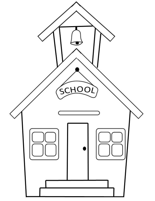 Back to School Coloring Pages | Holiday color pages | Pinterest ...
